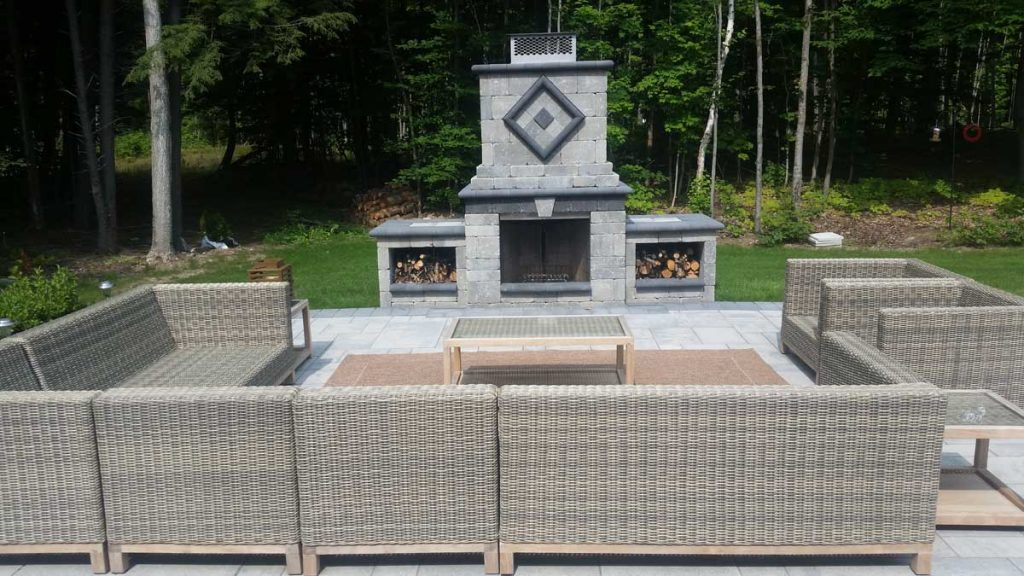 Fireplace Rockscaping Barrie