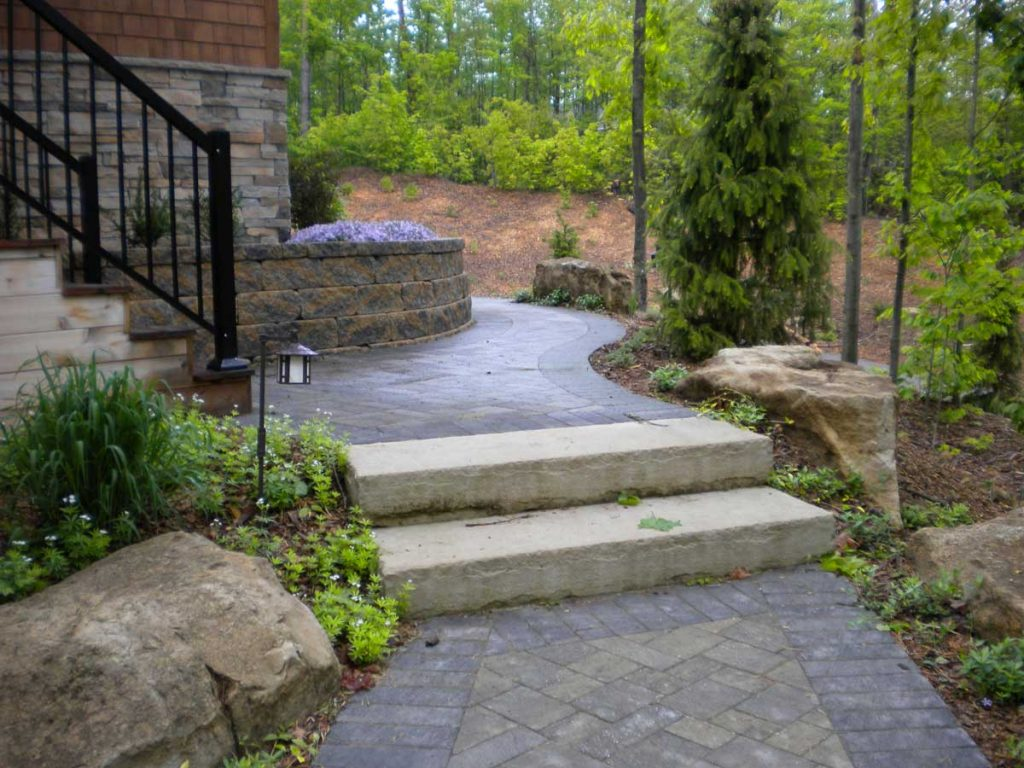 Retaining Wall Rockscapes Barrie