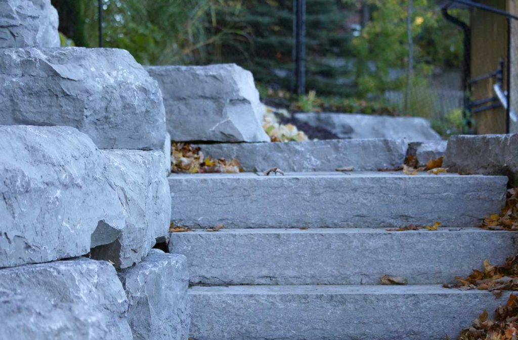 Outdoor Staircase Rockscapes Barrie